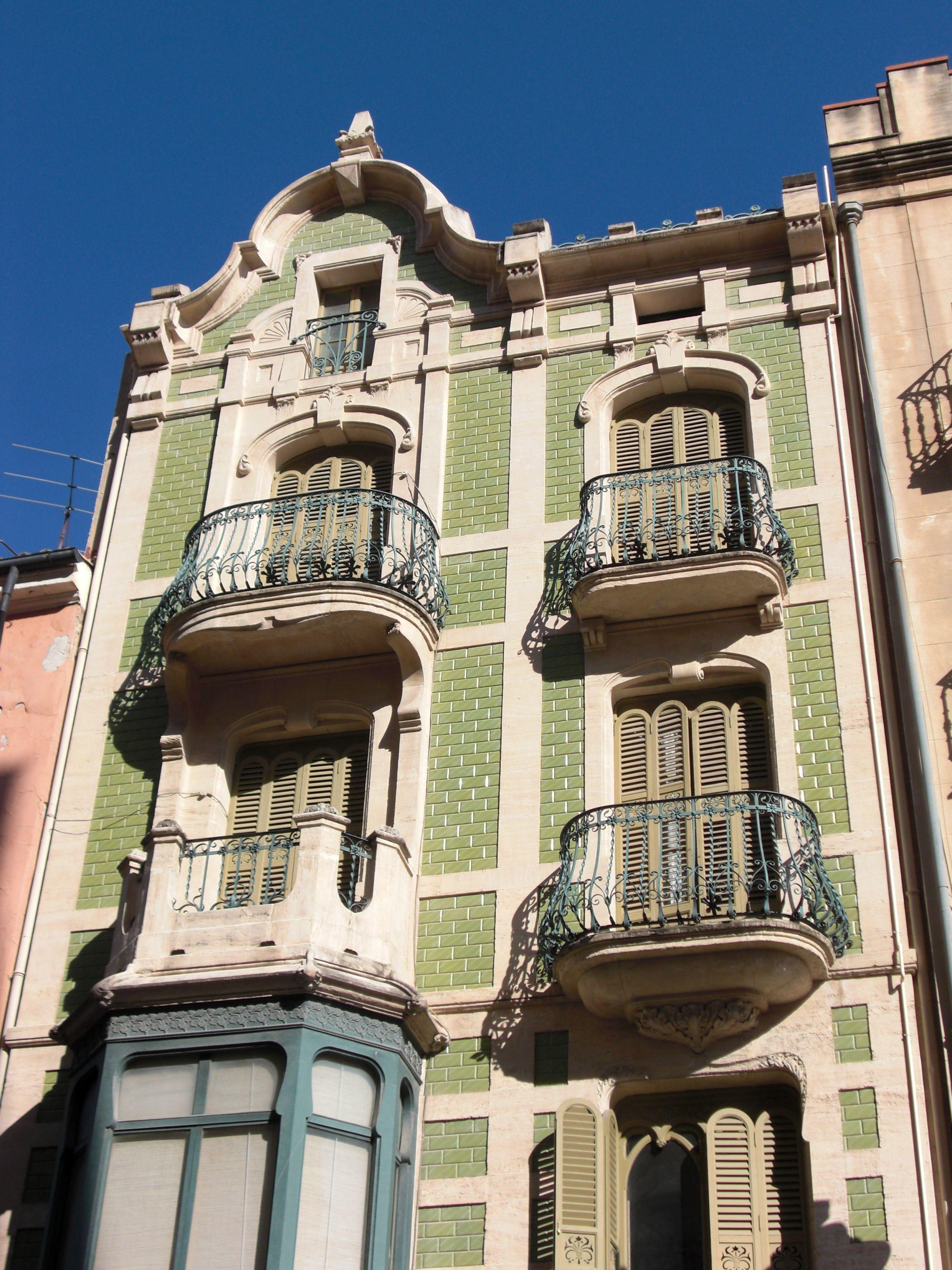 Casa Laporta, en Avda. País Valenciano, 26 (antes. C/ San ...