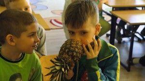 """""""Chcę być zdrowy i piękny, więc warzywo zjem na śniadanie."""" to jedna z rymowanek wymyślona przez uczniów z SP w Kołodziejewie. Przeczytajcie jak minął im dzień zdrowego odżywiania: http://blogiceo.nq.pl/sportowekolodziejewo"""