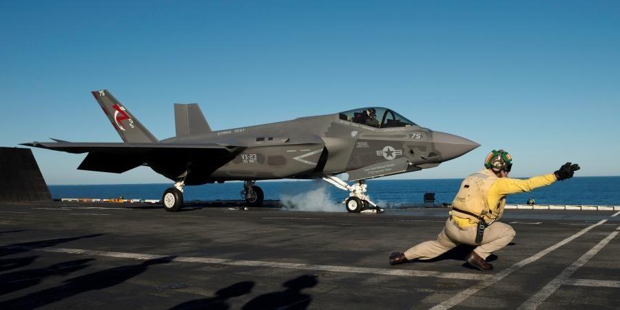 USNavy's F-35C sea trials