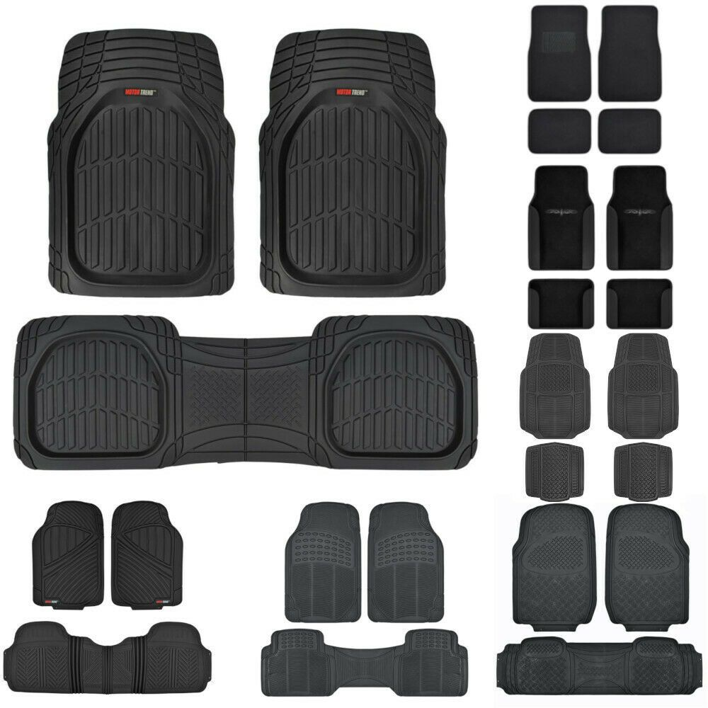 Heavy Duty Car Floor Mats for Sedan SUV Van Truck Carpet