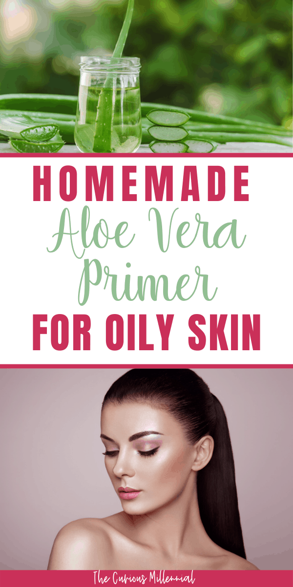 DIY Aloe Vera Gel And Glycerin Oily Skin Primer Primer