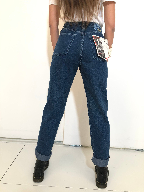 a basso prezzo 9631e 69888 Naj Oleari Mom Fit Jeans size 28, Deadstock vintage 80's ...