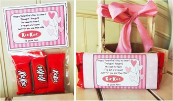 "Valentine Candy Sayings ""Chocolate"" 