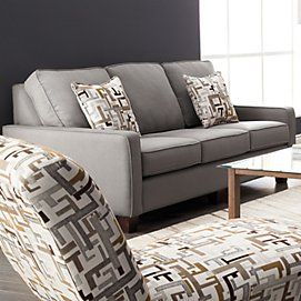 Crandall Ii Collection Condo Size Sofa Sears Canada
