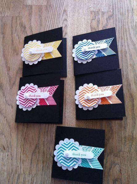 Oh Hello Thank You Cards by Caroline Hallett