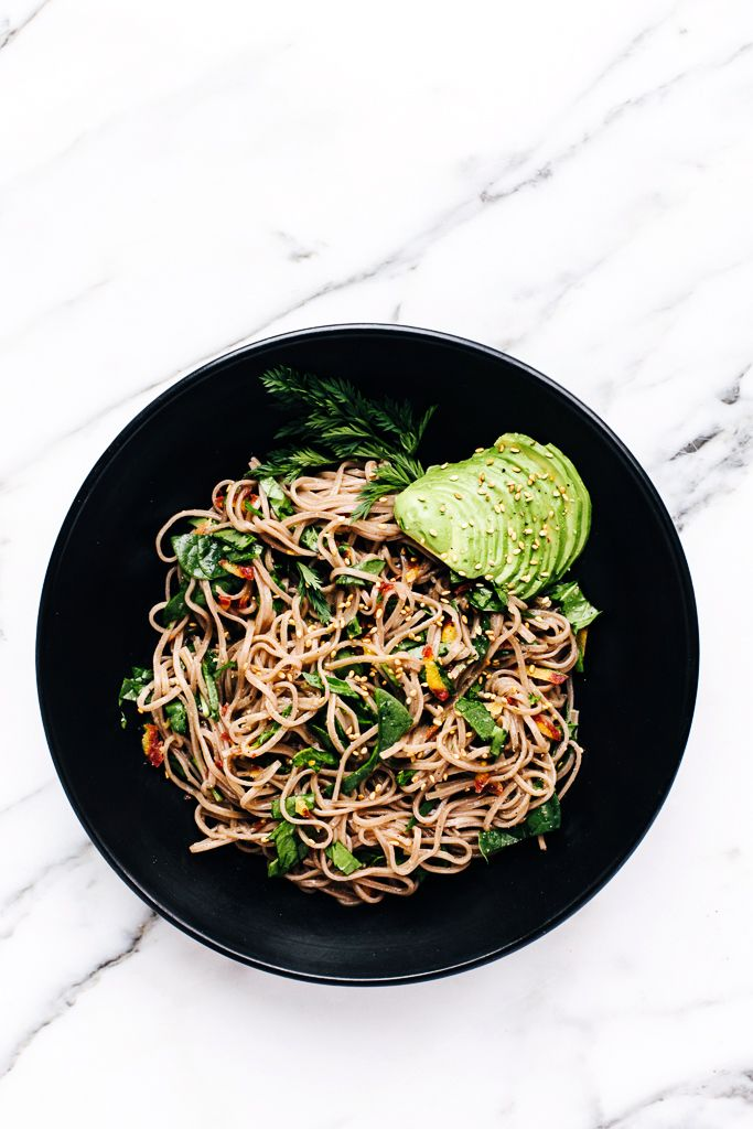 Soba Noodles From The Rawsome Vegan Cookbook By Emily Von Euw A Giveaway