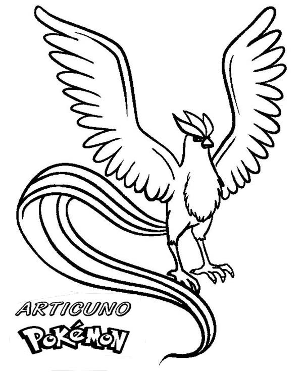 Amazing Picture Of Articuno Coloring Page Coloring Sun Coloring Pages Cool Pictures Articuno