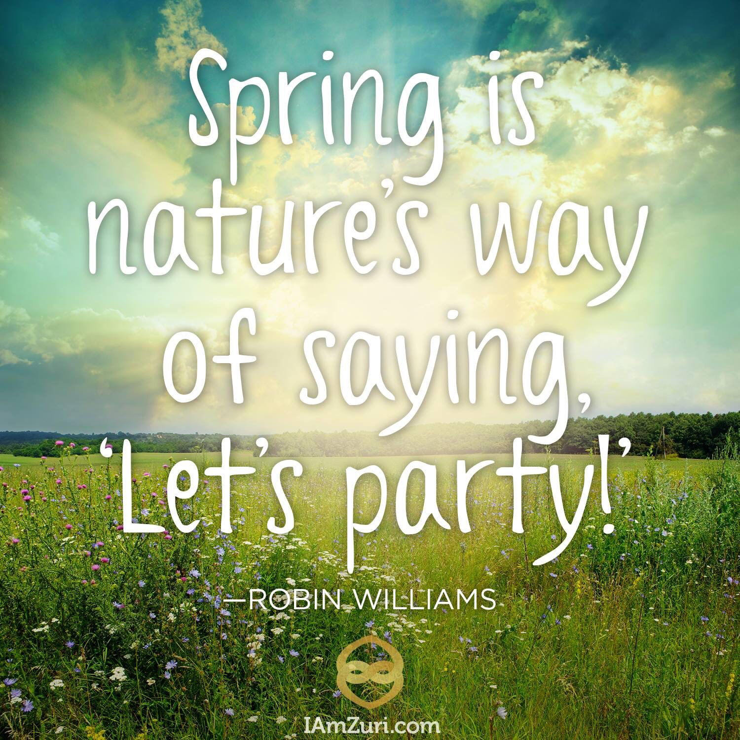"""Did you know the color green instantly sets your body at ease.  It is the easiest color on the eye and can even improve vision. It's no wonder those of us waiting to appear on TV sit in """"green rooms"""" to relax.  Go outside and get in nature, it's SPRING! #springtime #gethealthy #calm #nature #spring #cleanliving #gooutside"""