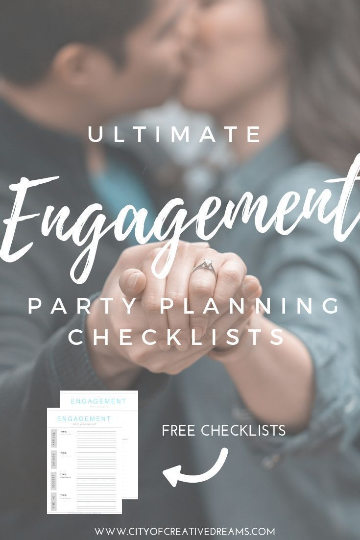 Ultimate Engagement Party Planning Checklists - City of Creative Dreams