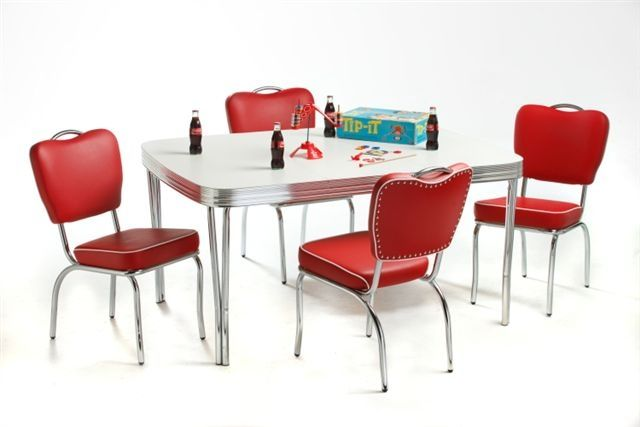 Dinnettes Acme Chrome Dinettes Furniture Manufacturer