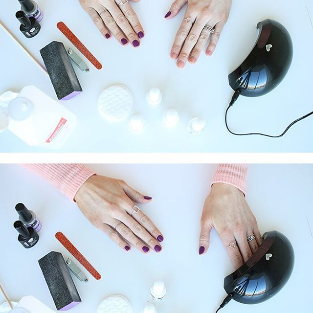 Glow Dry - Portable LED Nail Dryer   Dryer, Manicure and Nail salons