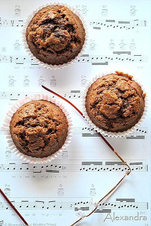 Μα...γυρεύοντας με την Αλεξάνδρα: Muffins σοκολάτας