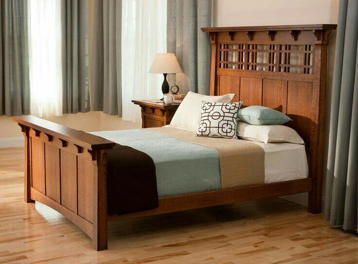 mission style bed  furniture bedroom furniture design