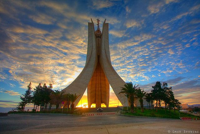 Martyrs Monument Algiers Avec Images Alger Photo Algerie
