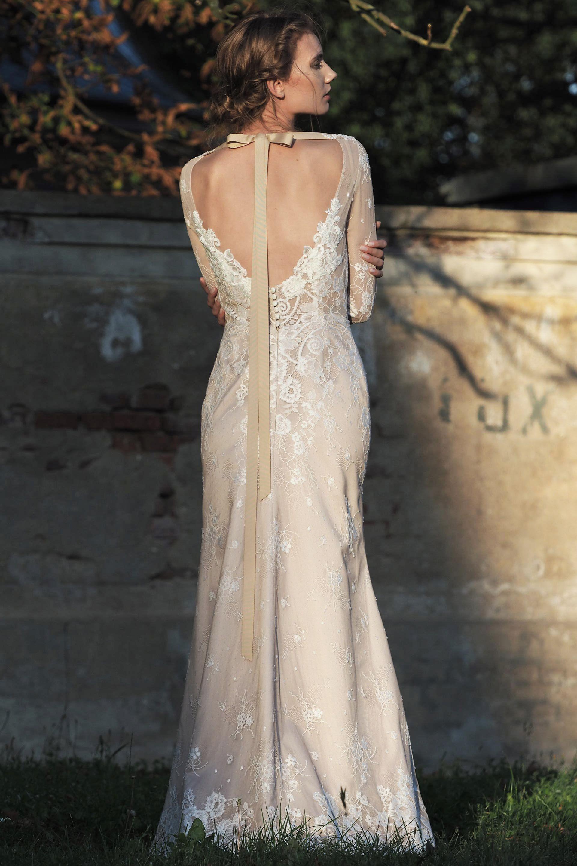 Modell Flora (834) – Silk & Lace Hochzeitskleider Brautkleid, Braut ...
