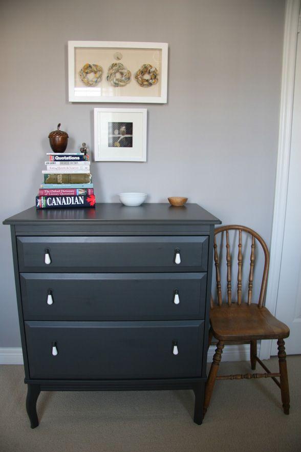 Yellow And Gray Bedroom Tour Hoopla Grey Bedroom Furniture Painted Bedroom Furniture Grey Wood Furniture