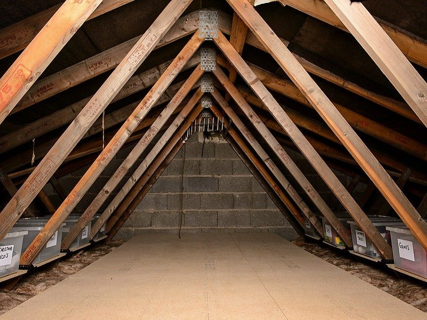 Loft Ledge Truss Shelf Kit Attic Storage Attic Renovation Attic Flooring