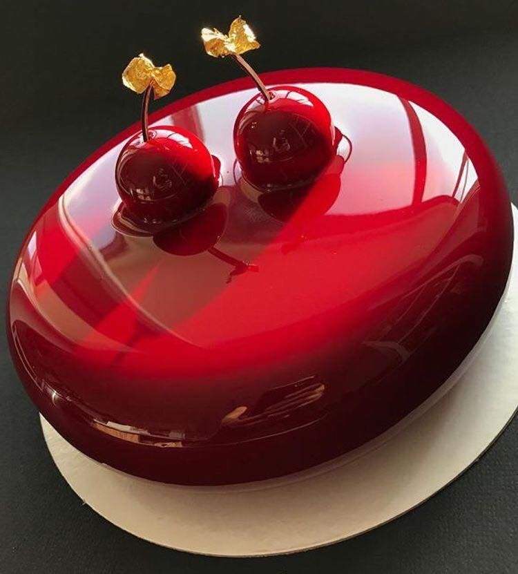 Pin by yalimed nanasi on awesome cakes pinterest for Mirror glaze cake