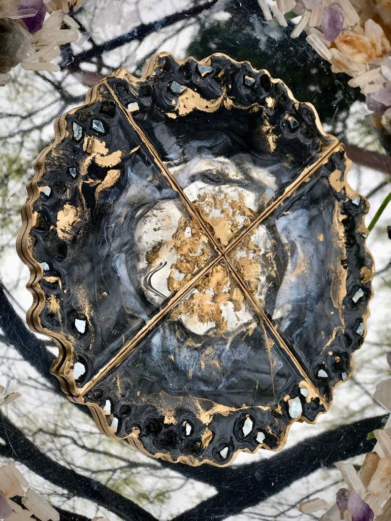 Pin on Geode Resin Art