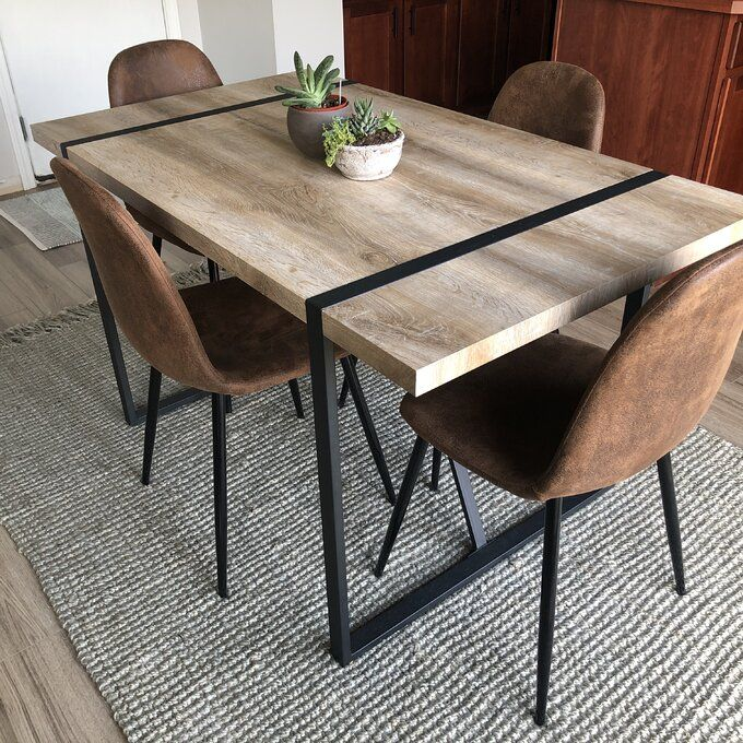 Industrial Dining Table, Wayfair Dining Room Table And Chairs