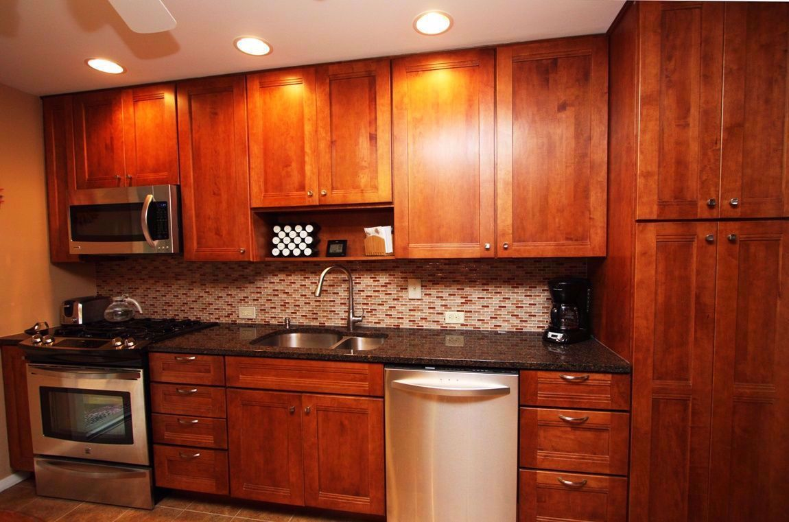 Affordable 42 Inch Cabinets 8 Foot Ceiling In 2020 Kitchen Wall Cabinets Maple Cabinets Tall Kitchen Cabinets