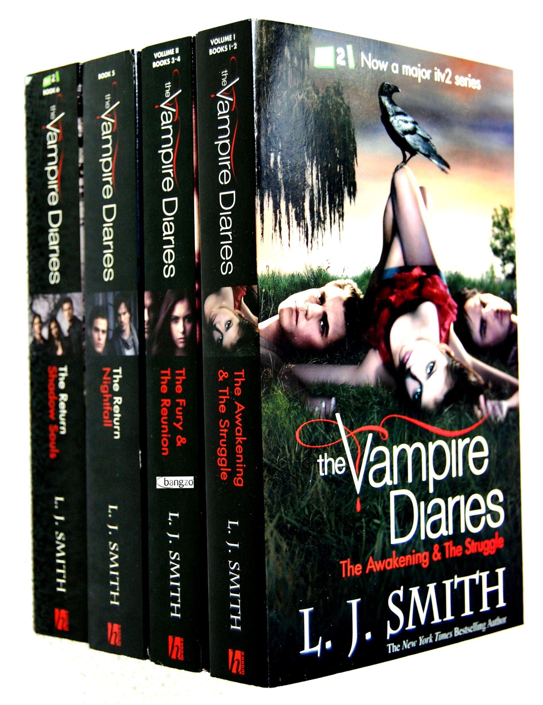 The Vampire Diaries Vampire Diaries Books Vampire Books Vampire Diaries Book Series