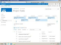 Using Sharepoint 2013 And Project 2013 For Collaborative Project