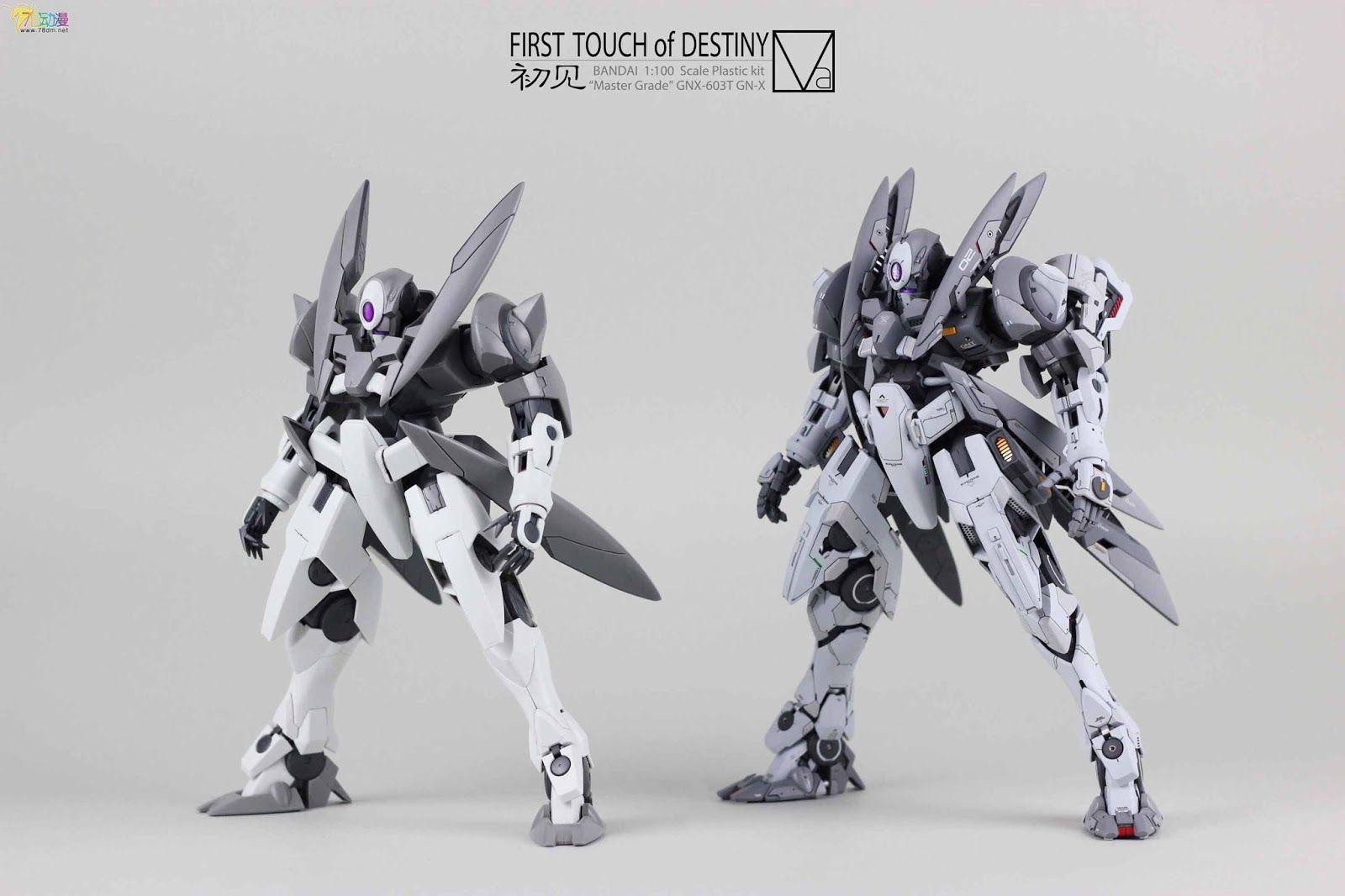 """Custom Build MG 1/100 GNX """"Beginning"""" Gundam Kits"""