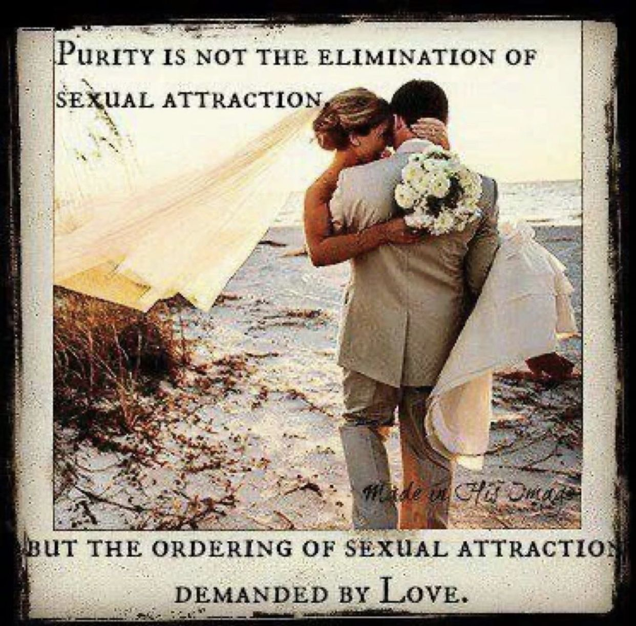 Christian dating no attraction