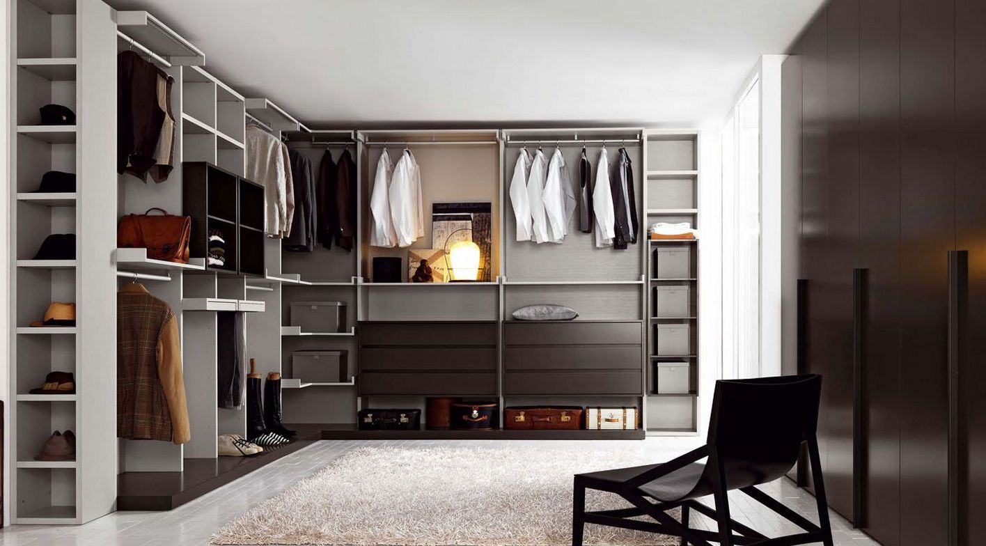 wardrobe furniture with style walk in closet designs and great black couch as well as with - Walk In Wardrobe Designs