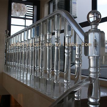 Best Crystal Glass Stairs Railings Staircase Designs Indoor Outdoor Glass Balcony Railing Handrail 400 x 300