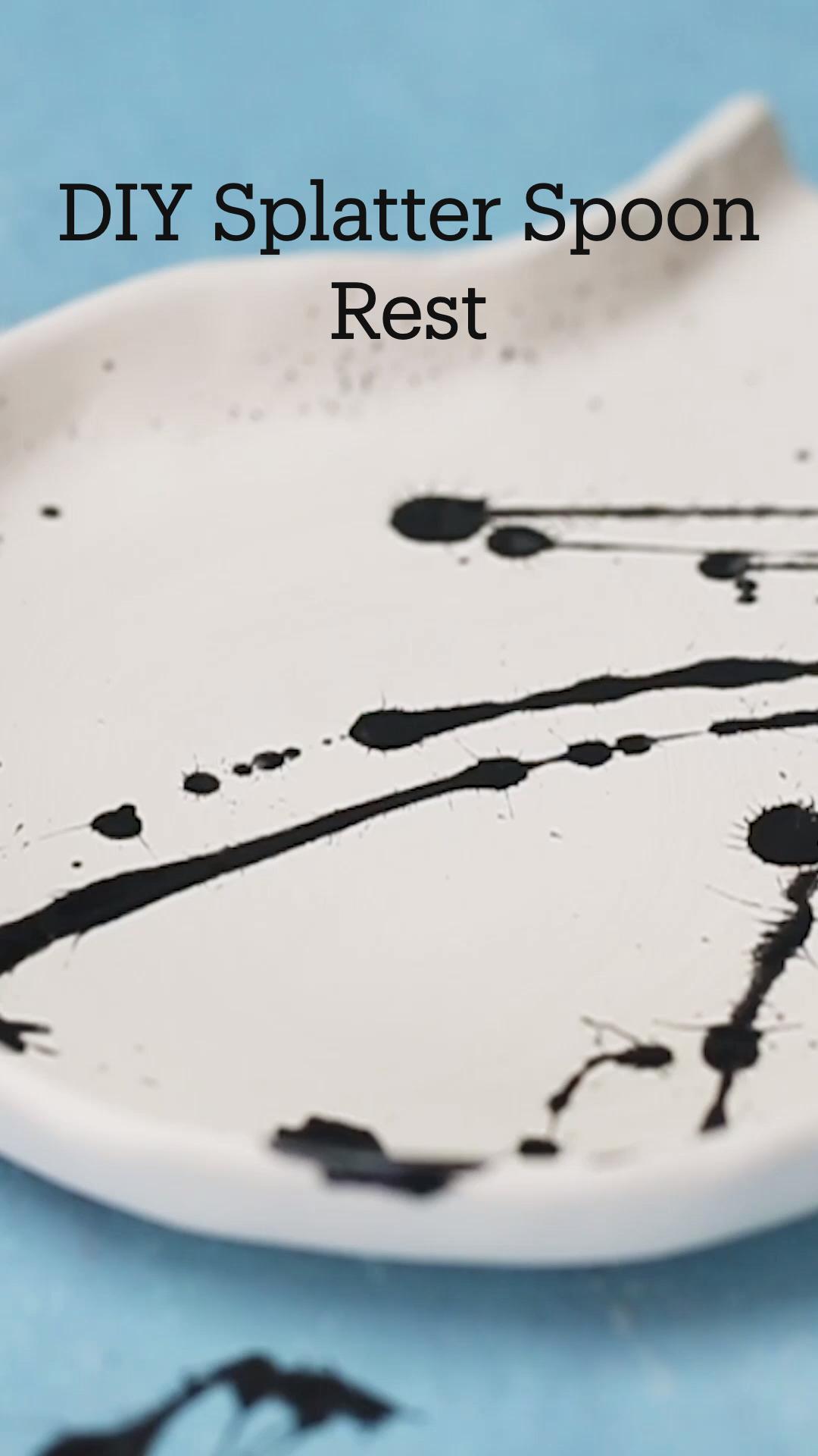 DIYSplatter Spoon Rest