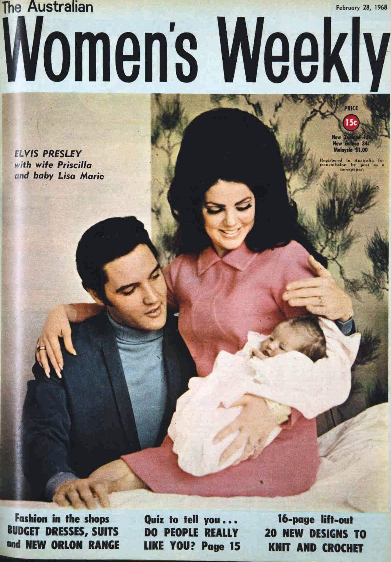 """Résultat de recherche d'images pour """"lisa marie presley 1er fevrier 1968"""""""