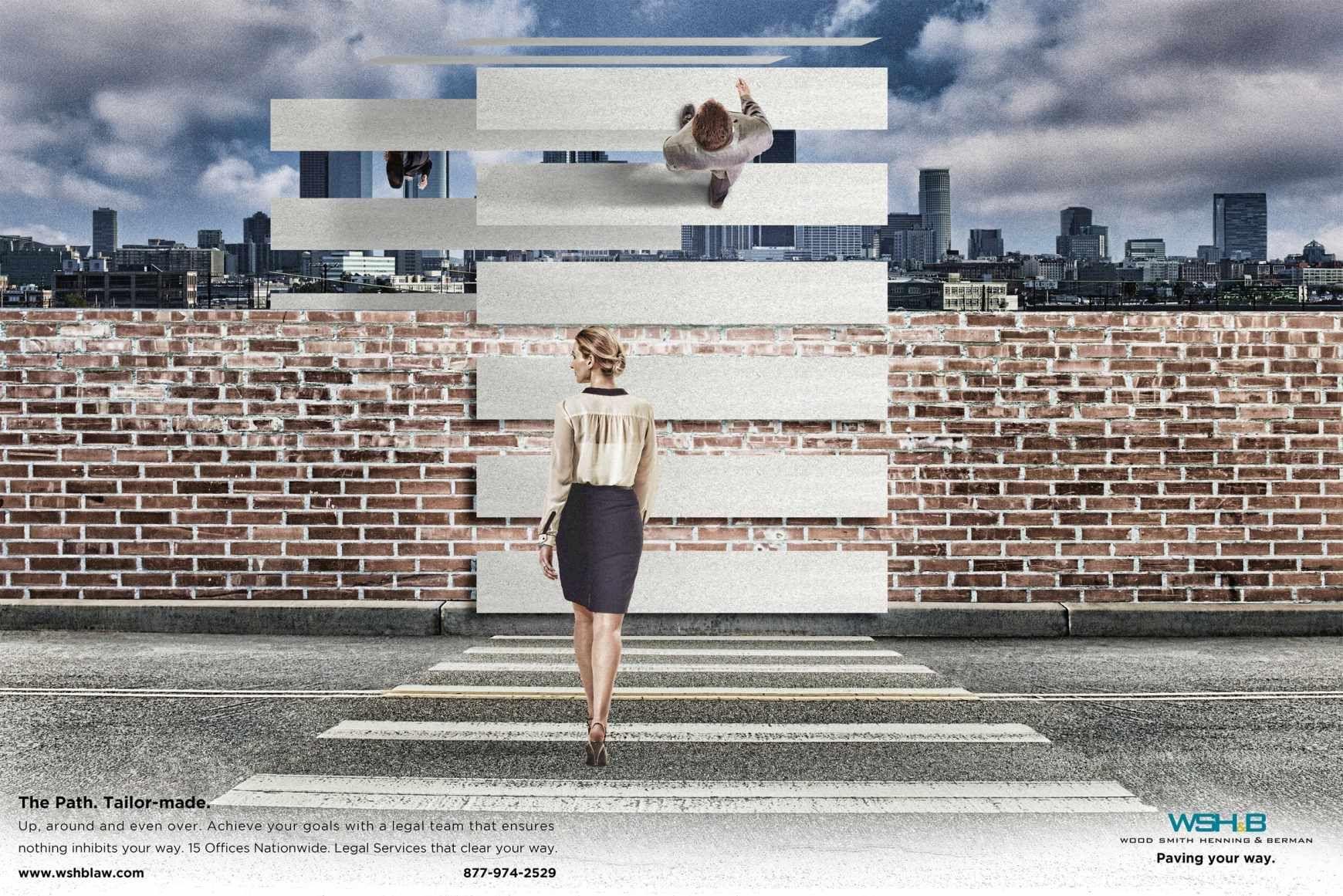 WSH&B: Crosswalk   Ads of the World™
