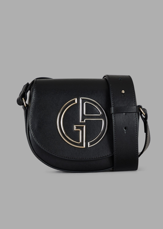 3656fecf Mini cross-body bag in leather with GA logo in 2019 | Play Dress Up ...