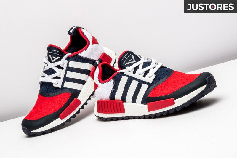 size 40 da506 81ec6 Adidas NMD Trail shoes white mountaineering sneakers rot ...
