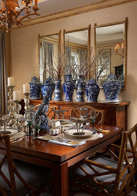 Asian Inspired Dining Rooms