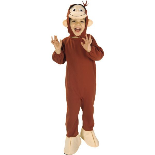 Toddler Boys Curious George Costume party ideas Pinterest - twin boy halloween costume ideas