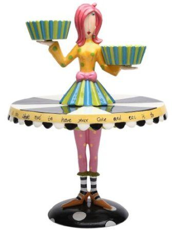 Amazon.com: Appletree Design Set of 2 Cupcake Holder and Cake Stand, 15-Inch: Kitchen & Dining
