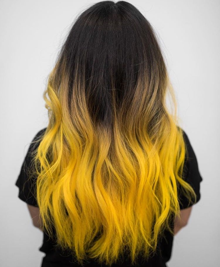 Pin By Stylehearts2424 On Hair Yellow Hair Color Ombre Hair Hair Color For Women