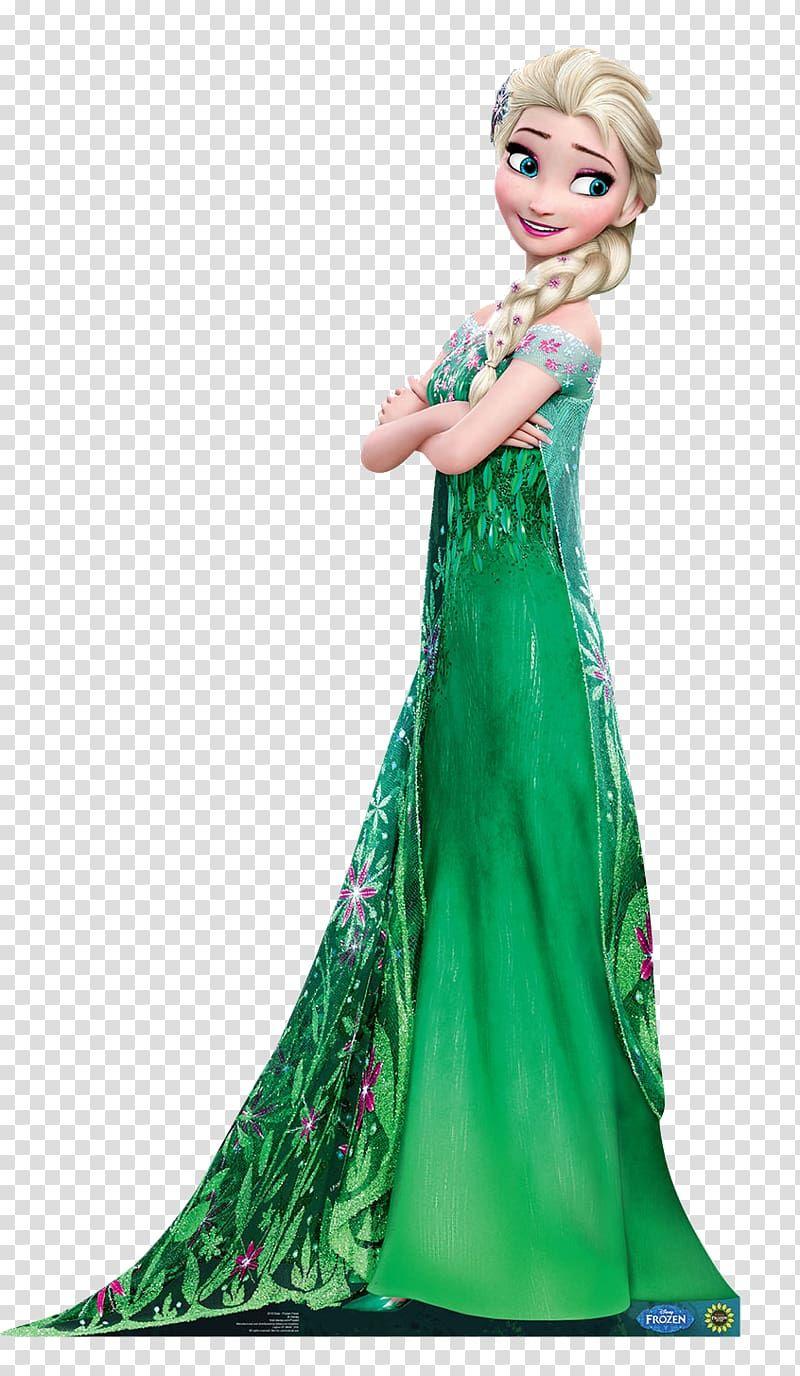Queen Elsa Wearing Green Dress Frozen Fever Elsa Anna Olaf Fever Transparent Background Png Clipart Frozen Fever Elsa Disney Princess Elsa Frozen Fever