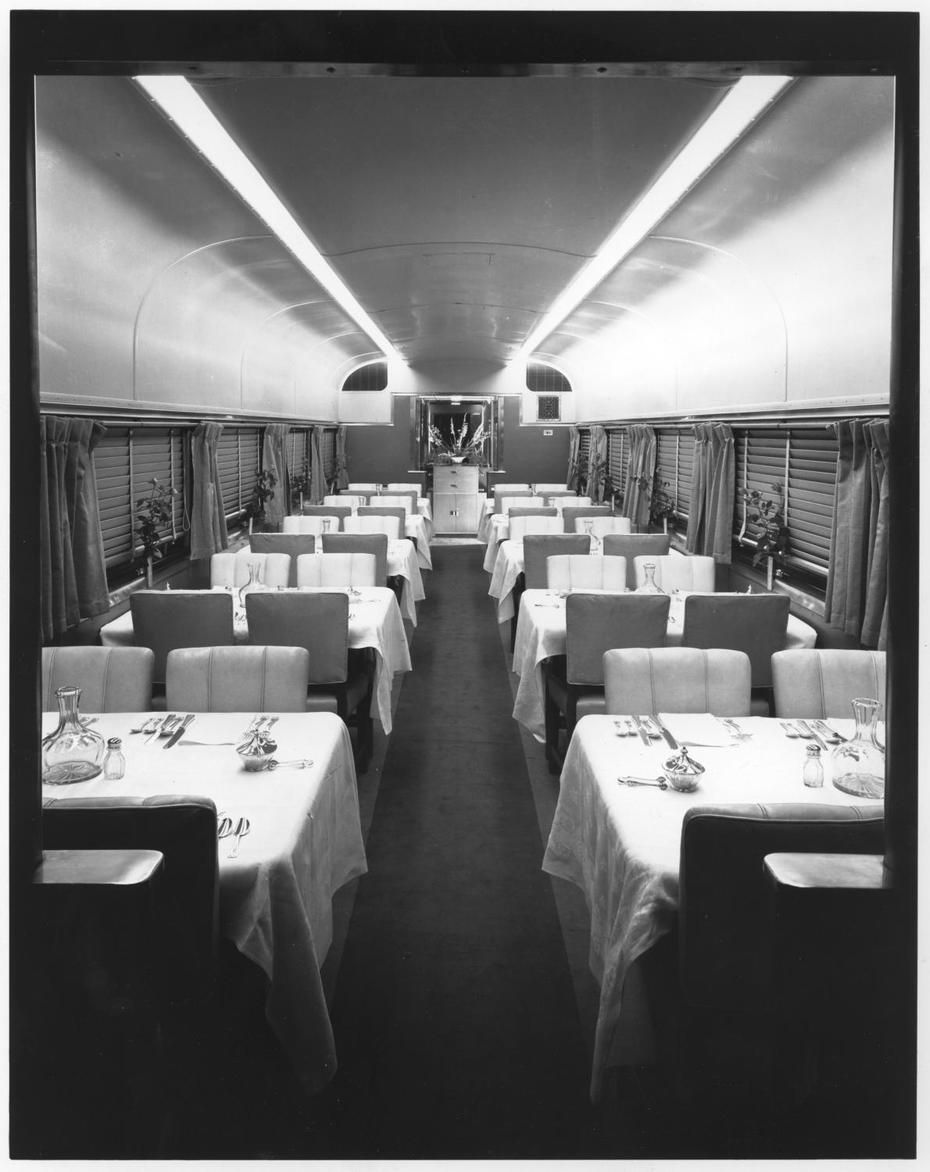 Observation Car Of The 20th Century Limited Designed By Henry