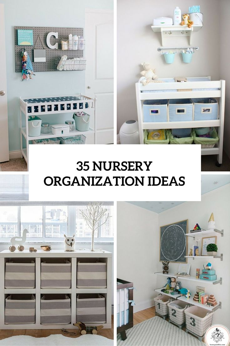 Baby Room Organization Ideas Clever Storage Closet