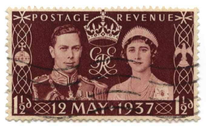 King George VI, Elizabeth Bowes-Lyon - 12 May 1937, Postage Revenue