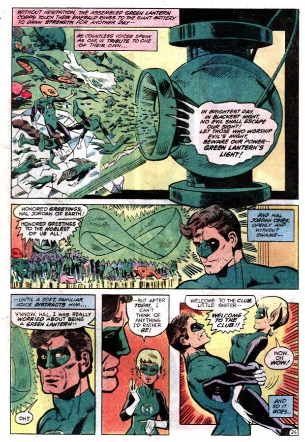 Things That Turned Out Bad - The Relationship Between Hal Jordan and Arisia | Comics Should Be Good @ CBR