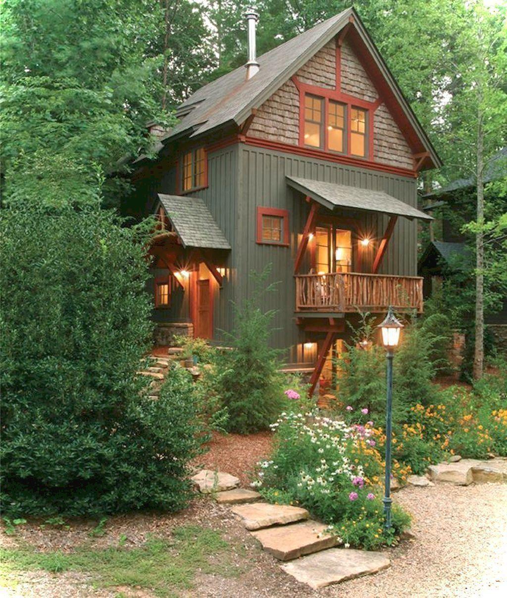 25 Luxury Cottage House Exterior Design Ideas Cottage House Exterior House Paint Exterior House Exterior