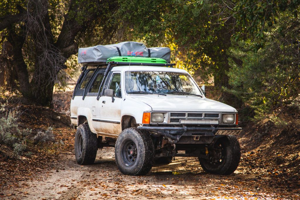 Building A Roof Rack For A 1st Generation Toyota 4runner Okienomads Toyota 4runner 4runner Roof Rack