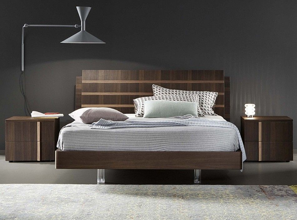 Tratto Italian Platform Bed By Rossetto Www Umodstyle Com Bed Design Modern Bedroom Bed Design Contemporary Home Furniture