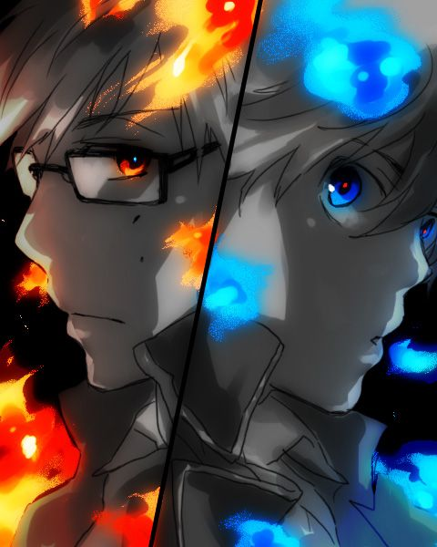 Which Brother Is In More Control Of His Power Blue Exorcist