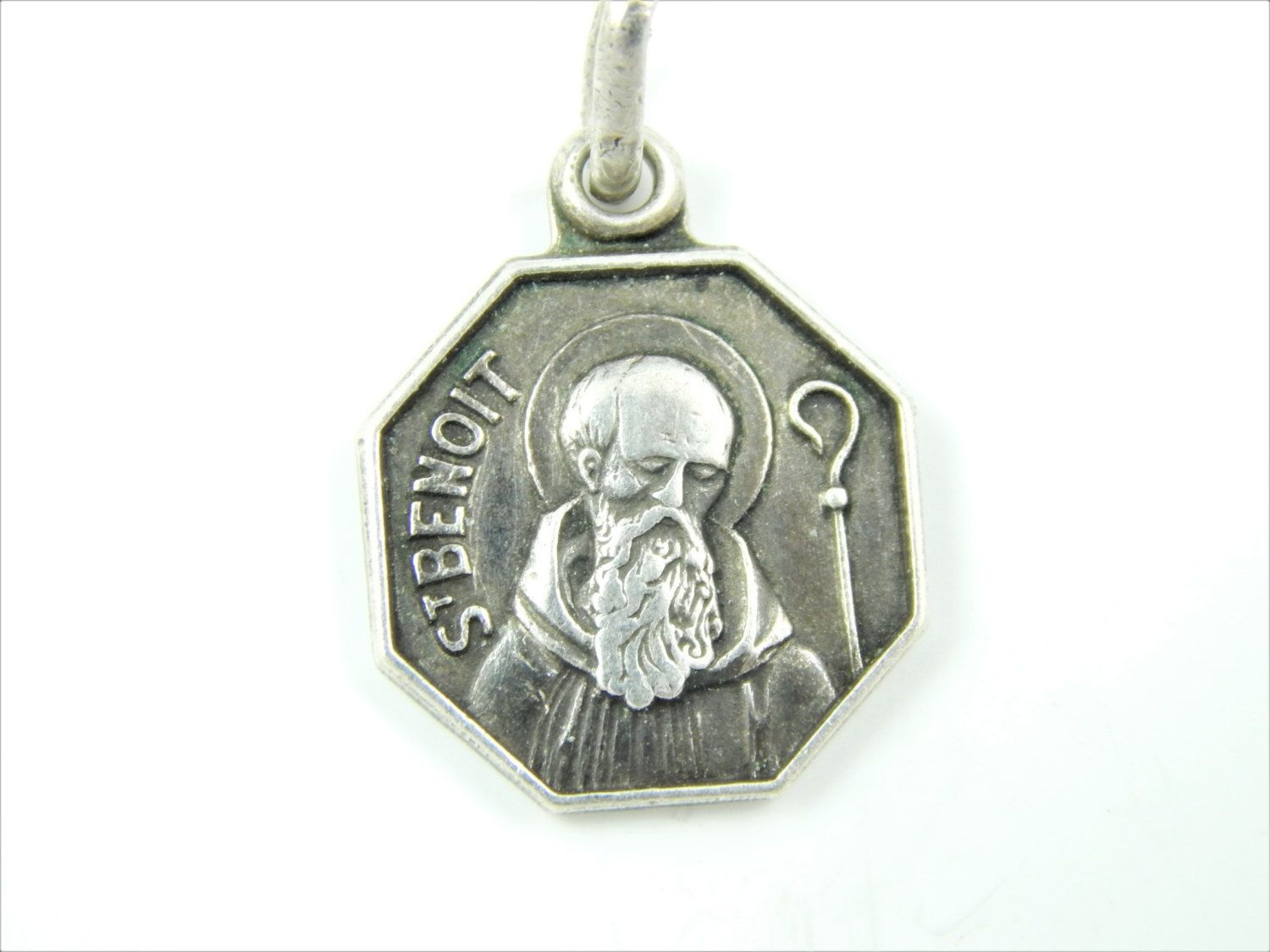 pope xxiii catholic medallion to john of vintage medal